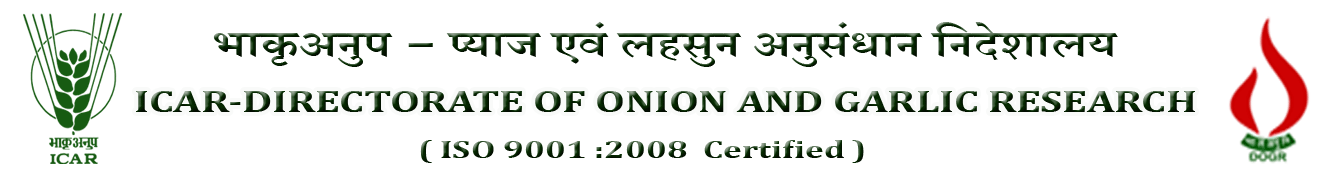 ICAR-Diroctroate of Onion and Garlic Research